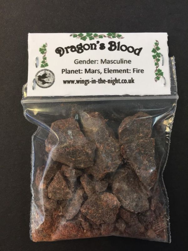 DRAGONS BLOOD Incense Resin 10g